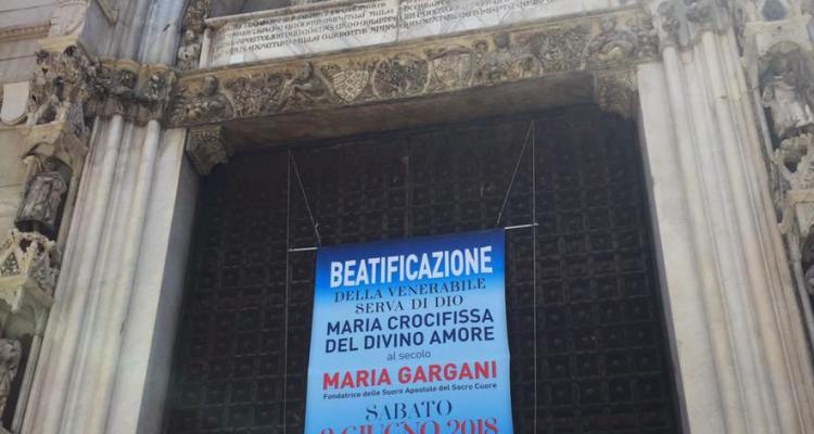Napoli in festa – Maria Gargani è Beata